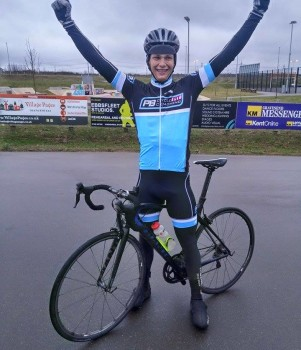 Alex wins Cyclopark March 2015