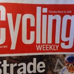 Alex Cycling Weekly Front Cover