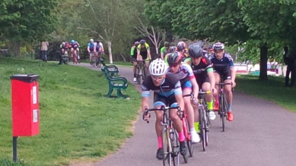 Barny Hove Park Leading lap 1