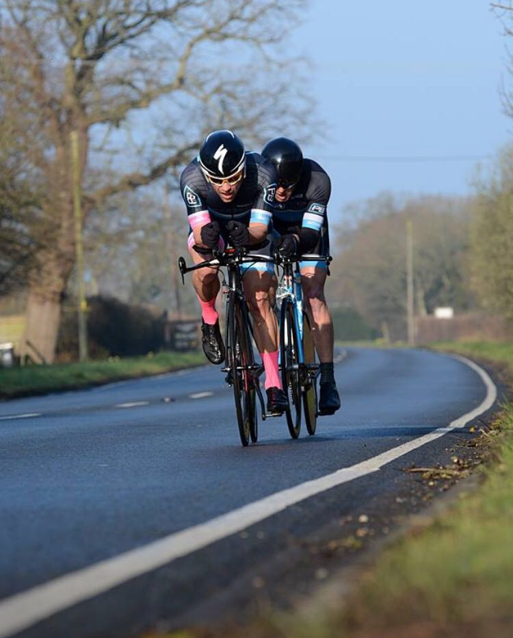 Barny and Stu 2 up TT 3rd April 2016