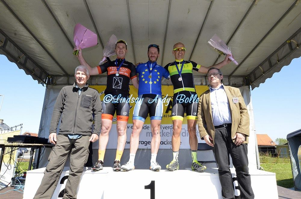 Euros 16 Winners' Podium